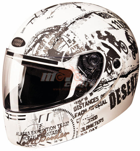 Studds Ninja 3G Decor (D1,D2,D3,D4,D5), Flip Up Helmets, Studds, Moto Central