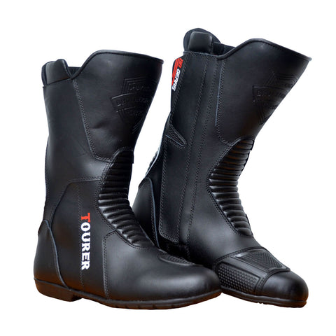 BBG Touring Waterproof Boots, Riding Boots, Biking Brotherhood Gears, Moto Central