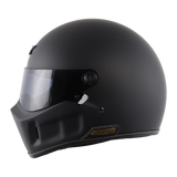 AXOR Retro Dominator Dull Black Helmet