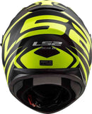LS2 FF 320 Stream EVO Jink Matt black Hi-Viz Yellow Helmet, Full Face Helmets, LS2 Helmets, Moto Central