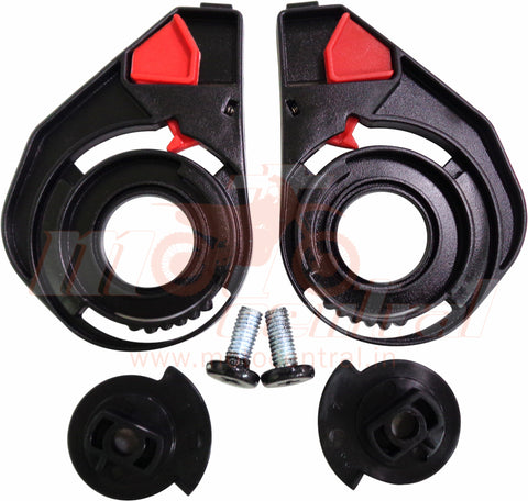 SMK Spare Visor Side Pivot Kit for Twister, Glide and Hybrid, Accessories, SMK, Moto Central