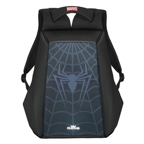 Road Gods Marvel Avengers Spider Man Ghost Black Laptop Backpack, Riding Luggage, RoadGods, Moto Central