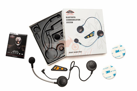 SMK A2 Bluetooth Headset for Twister, Glide and Hybrid Evo Helmets, Communicators, SMK, Moto Central