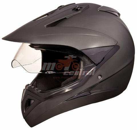 Studds Motocross Matt Black, Full Face Helmets, Studds, Moto Central