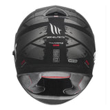 MT THUNDER 3 SV Kuffner Matt Red Helmet, Full Face Helmets, MT Helmets, Moto Central