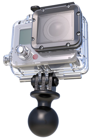 RAM Mounts Action Camera Universal Ball Adapter, Mobile Mounts, RAM Mount, Moto Central