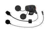 SENA SMH-5 Bluetooth Headset & Intercom for Scooters and Motorcycles with Universal Microphone Kit, Communicators, SENA, Moto Central