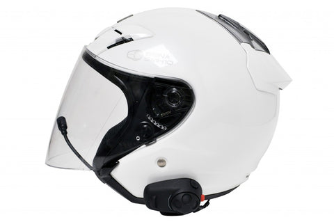 a4ee45a8bdd ... SENA SMH-5 Bluetooth Headset & Intercom for Scooters and Motorcycles  with Universal Microphone Kit ...