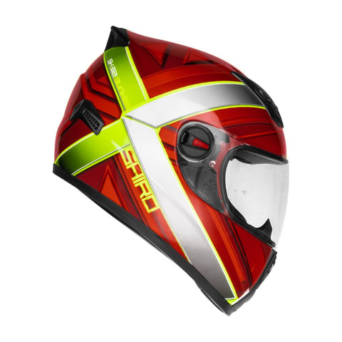 SHIRO SH-821 Bunker Gloss Red Helmet, Full Face Helmets, SHIRO, Moto Central