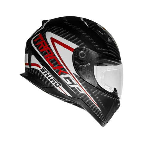 SHIRO SH-881 Track GP Matt Carbon Black Helmet