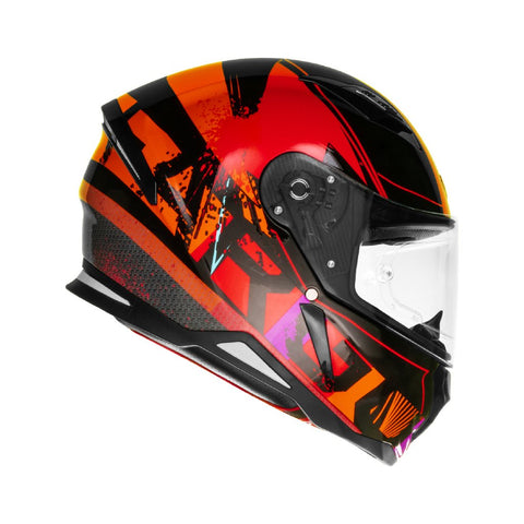 SHIRO SH-890 Fargo Gloss Red Helmet, Full Face Helmets, SHIRO, Moto Central