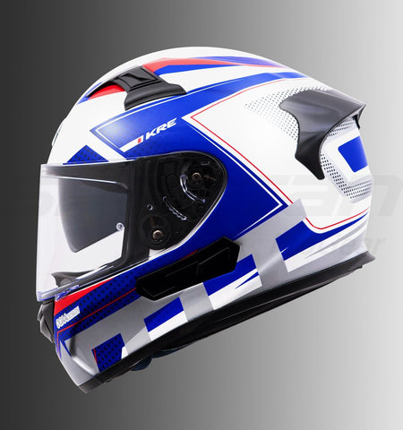 MT KRE SV Shock Uncle Sam, Full Face Helmets, MT Helmets, Moto Central