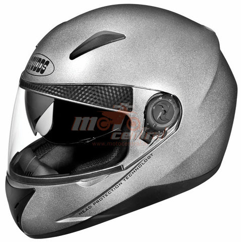Studds Shifter Silver Grey, Full Face Helmets, Studds, Moto Central