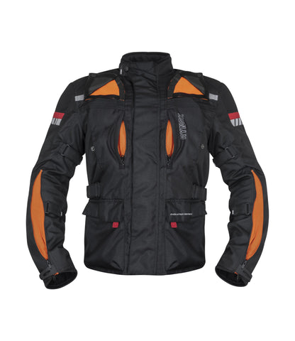 Rynox Stealth Evo v3 Level 2 Black Riding Jacket, Riding Jackets, Rynox Gears, Moto Central
