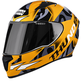 Studds Thunder Decor D7 Graphics Gloss Helmet