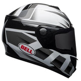 Bell SRT Predator White-Black Helmet, Full Face Helmets, BELL, Moto Central