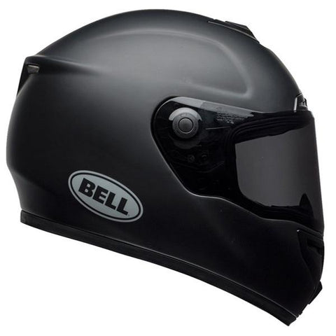 Bell SRT Solid Matt Black Helmet, Full Face Helmets, BELL, Moto Central