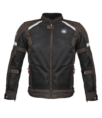 Rynox Urban Earth Brown Riding Jacket, Riding Jackets, Rynox Gears, Moto Central