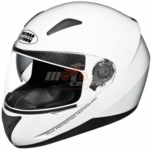 Studds Shifter White, Full Face Helmets, Studds, Moto Central