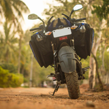 ViaTerra Wolf Saddle Bags for Bajaj Pulsars
