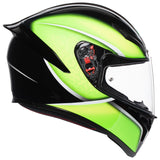AGV K1 Qualify Black Lime Helmet, Full Face Helmets, AGV, Moto Central