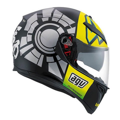 AGV K3-SV ROSSI Winter Test 2012, Full Face Helmets, AGV, Moto Central