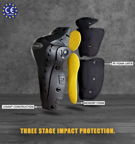 ASPIDA Bionic External Knee Guards - Moto Central