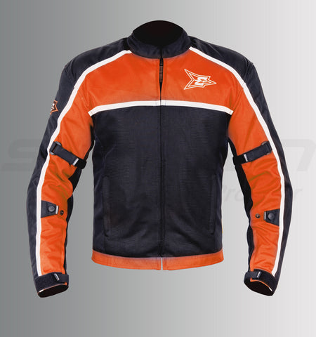 Aspida Aura Mesh Jacket (Orange), Riding Jackets, Aspida, Moto Central