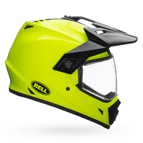 Bell MX-9 Adventure MIPS-Equipped Gloss Hi-Viz Yellow Helmet, Full Face Helmets, BELL, Moto Central