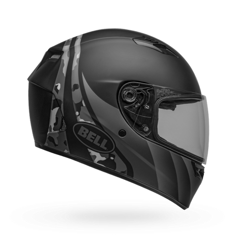 Bell Qualifier Integrity Matt Black Titanium Camo Helmet, Full Face Helmets, BELL, Moto Central