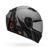 Bell Qualifier Integrity Matt Grey Orange Camo Helmet, Full Face Helmets, BELL, Moto Central