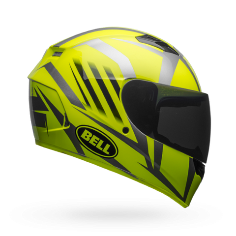 Bell Qualifier Blaze Hi-Viz Yellow-Black Helmet, Full Face Helmets, BELL, Moto Central