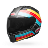 Bell Qualifier Commander Blue-Red-Yellow Helmet, Full Face Helmets, BELL, Moto Central