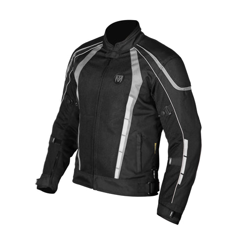 Moto Torque Blade L2 Black-Grey Riding Jacket, Riding Jackets, Moto Torque, Moto Central