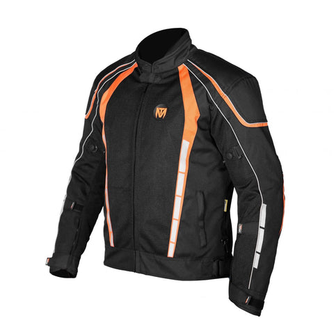 Moto Torque Blade L2 Black-Orange Riding Jacket, Riding Jackets, Moto Torque, Moto Central