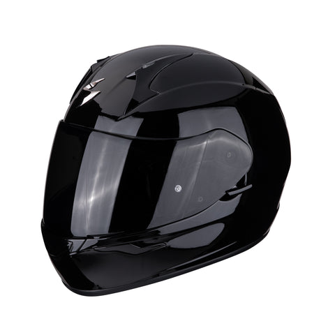 SCORPION EXO-390 Solid Gloss Black, Full Face Helmets, Scorpion Exo, Moto Central