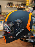 SMK Unicolor Force Matt Black-Fluorescent Orange MA270
