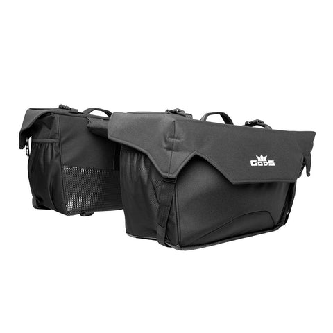 RoadGods Triton X2 v2.0 Saddlebags 50 litres with Capsule Rain Cover, Riding Luggage, RoadGods, Moto Central