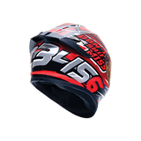 Bilmola Rapid S Don't Shift Miss Red Gloss Helmet