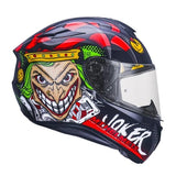 MT Targo Joker Black Helmet