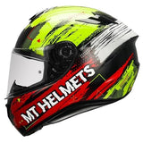 MT Targo Zyfra Gloss Red Helmet