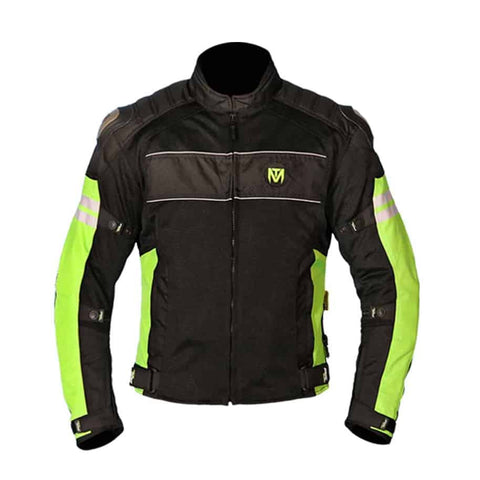 Moto Torque Resistor L2 Black-Green Riding Jacket, Riding Jackets, Moto Torque, Moto Central