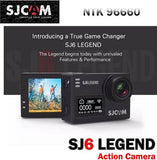 SJCAM SJ6 Legend 16MP 4K Gyro Stabilization External MIC Support WIFI Waterproof Dual Screen Action Camera