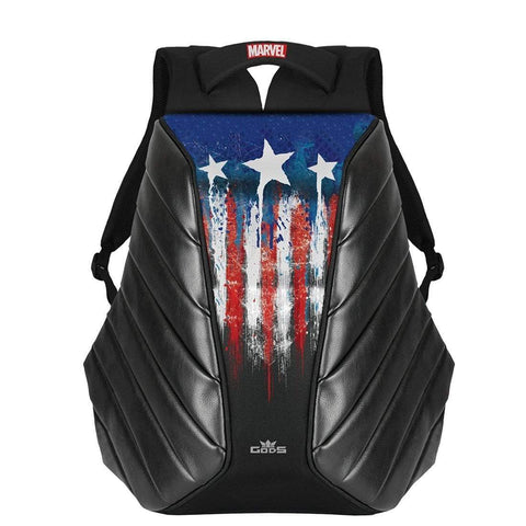Road Gods Marvel Avengers Captain America Xator Laptop Backpack, Riding Luggage, RoadGods, Moto Central
