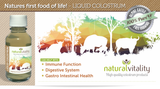 Natural Vitality Liquid Colostrum Natures first food of life