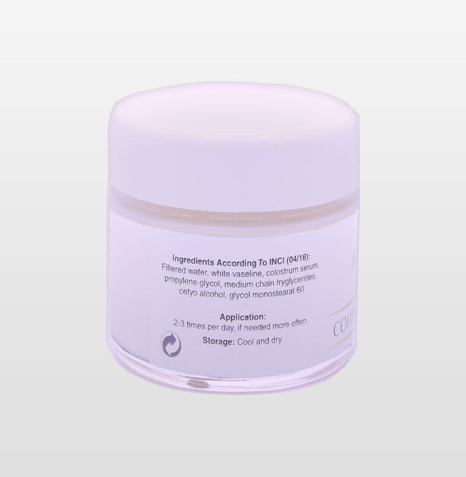 Skin Cream incl. high purity colostrum-serum