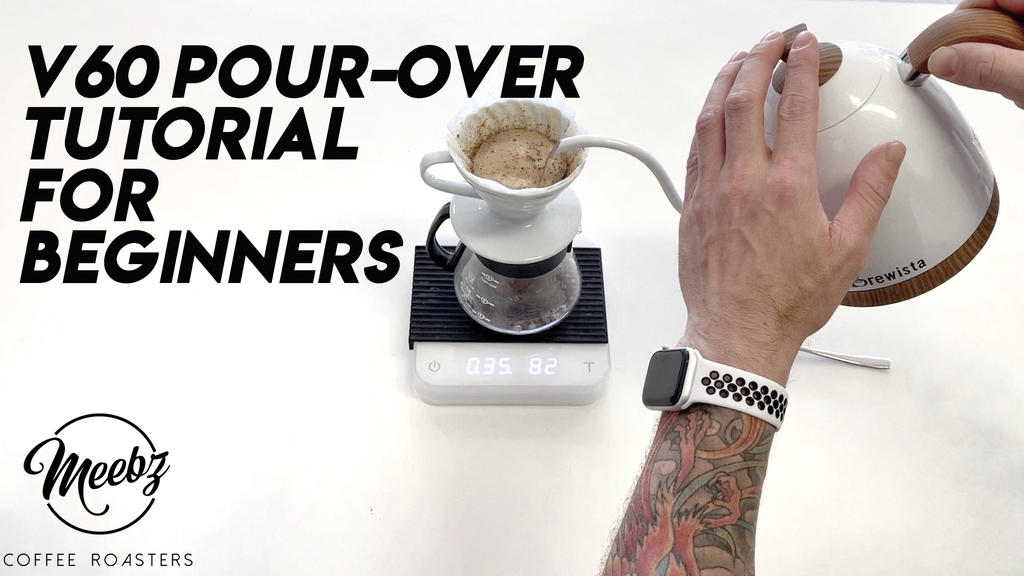 How To Brew Coffee on a Hario V60