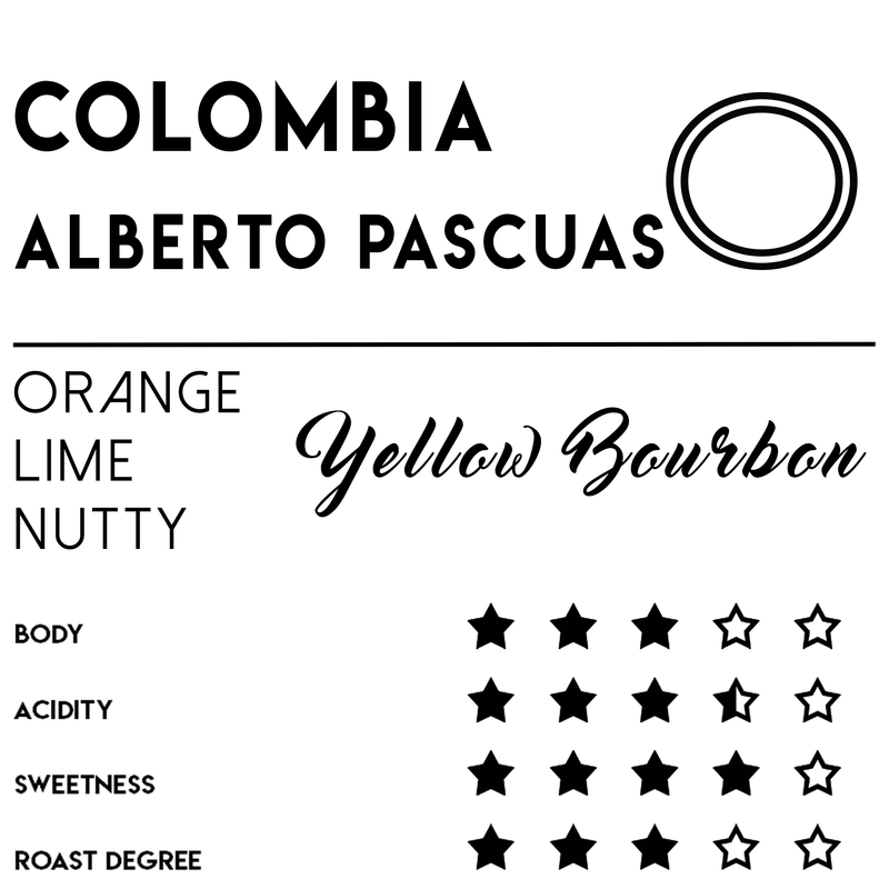 Colombia Alberto Pascuas - Coffee - Meebz Coffee