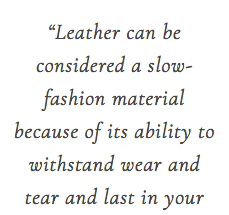 VEGAN LEATHER VS. ANIMAL LEATHER