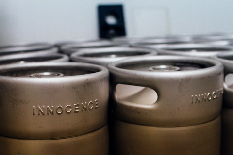 innocence brewing kegs